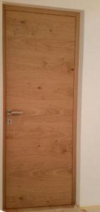 Türstock und Türblatt flächenbündig 142x300 - Innentüren